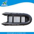 pvc material del casco inflable plegable pesca de arrastre para la venta