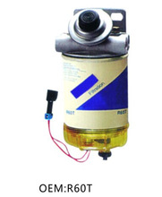 fuel filter assembly aluminum pump of R60T