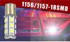 18 pcs SMD BAY15D led brake Light,car 18 smd led bulb 1156 MST20161850S