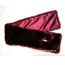 Plain Faux Fur Neck Scarf