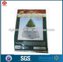 "Giant XMAS Tree Trash Clear Bag Artificial Storage/ Live Disposal 47""x96"""