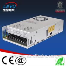 360w Switching Power Supply, Metal Case, 90-264V AC, 12V, 30A, 24V/15A