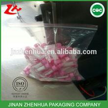custom pe medical usage plastic shopping bag