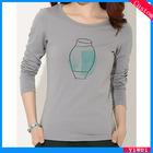 Modal Cotton XXXL Sex Women T Shirt Design Printing