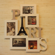 New beautiful wood photo frame for home decoration