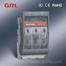 DNH7-161/3 LV electrical switch fuse box cabinet