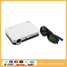 Big projector screen pico projector 1080P multimedia 3D art digital wifi projector QShot3