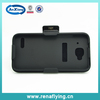 shell mobile phone case for Alcatel 6012A with kickstand and belt clip