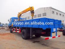 DONGFENG 4X2 Truck mounted crane hydraulic loading crane