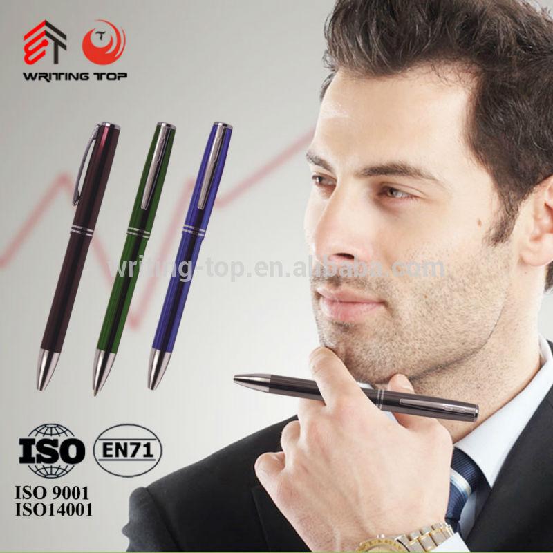 20144สีปากกาโลหะปากกากับประเทศจีนผู้ค้าส่ง