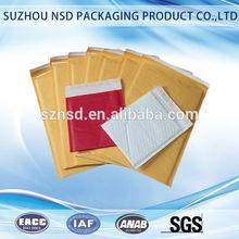 anti static various coloured kraft paper mailing bags