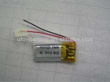 lipo Battery 3.7v 50mAh Lithium polymer Battery , 3.7v 50mAh recharge battery