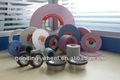 Faca de polimento de rodas, carboneto de silício e óxido de alumínio rebolo
