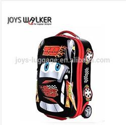 cartoon car luggage for kids