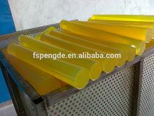 De plástico transparente varilla de uretano varilla
