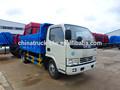 Dongfeng 5 toneladas pequeno de lixo caminhão transporte