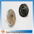 Prodotto di punta da cucire bottoni a pressione magnetico vestiti con il logo di stampa/brand