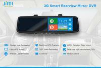 JiMi 2014 Newest 3G Smart Rearview Mirror DVR gps tracker for prisoner