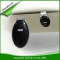 de doble conectado manos libres kit de coche inalámbrica bluetooth auricular de teléfono celular