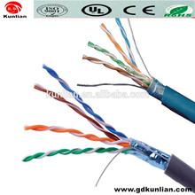 UL CMR Certified Cat5e Cat6 Cat7 Ethernet Lan Cables / Ftp Cat5e Lan Cable
