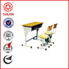Middle new style school attached school used nursery school desk and chair