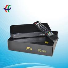 hd receiver 1080p full hd digital satellite receiver OEM F5 support Youtube, wifi, cccam, etc.