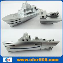 OEM gift boat shape usb flash drive,Newest design of boat usb stick