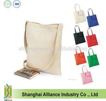 Cross Body Sling Plain Cotton Tote Carrier Bag/ Cotton Messenger Bag