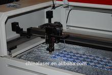 Label laser cutting machine with camara ccd cutting