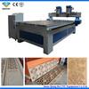 woodworking cnc cutter / 2 heads cnc wood cutting machine with CE QD-1325-2