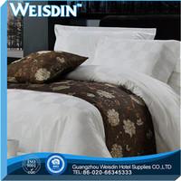 wholesale jacquard fascinating burgundy-white satin fabric/bedding sheet/pillow case
