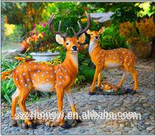 2014 hot new product sika deer china wholesale deer resin