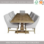 French wooden 12 seater dining table