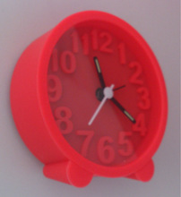 Digital talking alarm clock with projection,7 color light alarm clock with nature sound
