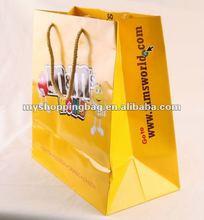 2014 Hot Sale shopping bag promotion bag chocolate bag