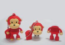 Cute Monkey USB flash drive, PVC monkey usb flash memory 8gb, Monkey Cartoon Usb gadbets pen drives