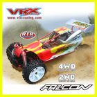1/5scale 2.4G high speed car,speed gas rc car,rc buggy toy