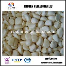 IQF frozen garlic clove