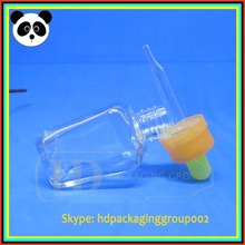 screen printing oil dropper free e liquid sample empty bottle containers
