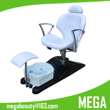 Pedicure Chair with Foot Massage Basin