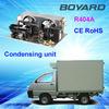 commercial freezer condensing units with R404A horizontal refrigeration compressor