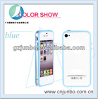 Factory Low Price Colorful Soft Bumper rubber Case for iphone 5