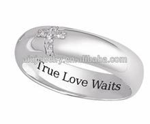 Love Script True Love Waits Ring