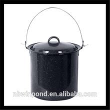 carbon steel enamel pot ,enamel camping pot for outdoor