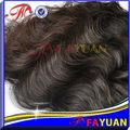 Calidad superior a largo duradera la cutícula completo grado 6a 100% humano sin procesar crudos al por mayor de pelo indio virgen