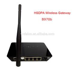 Original Huawei B970b 3G wireless router WIFI gsm gateway with SIM slot unlocked HSUPA HSDPA WCDMA