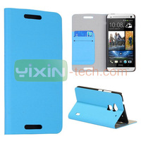 Wholesale Foldable Flip Stand Leather Case for HTC One Max T6