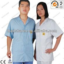 ESD Antistatic shirt working shirt esd cleanroom garment