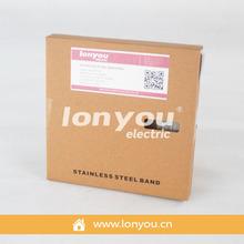 316 Stainless Steel Banding in Cardboard Box