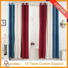 Fancy colored velvet patchwork elegant living room curtain